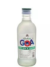 Indian Goa Dry Gin and Lemon