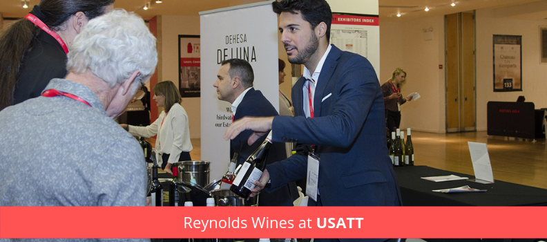Image of Carlos Reynolds, CEO, Reynolds Wines at USATT