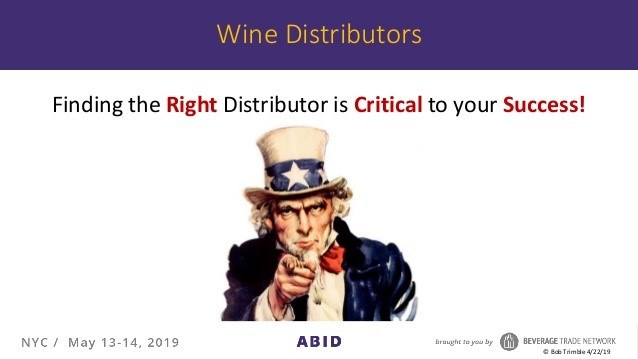 Finding the right distributor
