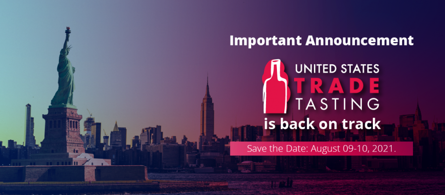 Photo for: USA Trade Tasting New Dates Announced To Be August 9-10, 2021