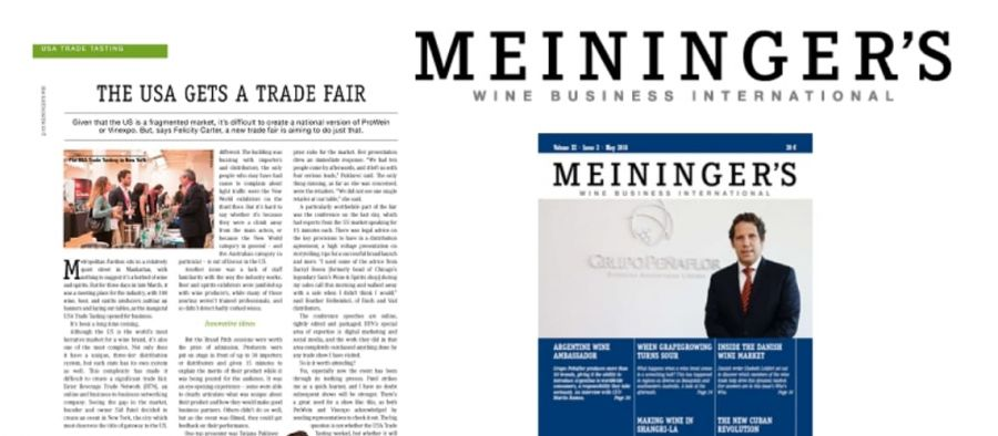 Photo for: Meininger's Wine Business International Explores USA's Wine, Beer and Spirit Trade Show