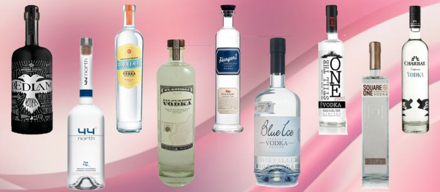 Photo for: Top 10 American Craft Vodka Brands