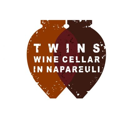 "Logo for:  ""Twins wine house In Napareuli"" LTD"
